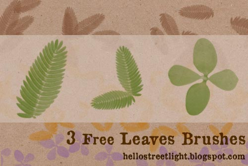 Free Leaves Brushes