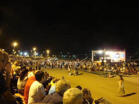 Попова плажа, концерт