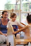 In LePort Schools Parent & Child Montessori Infant classrooms, older infants are encouraged to problem solve early on when more than one child wants to use the same climbing structure.
