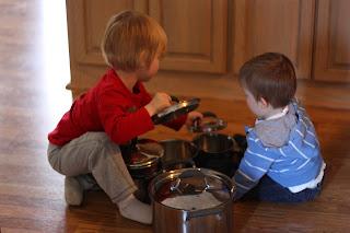 """Toddler Time: Pots & Pans """"Puzzles"""""""
