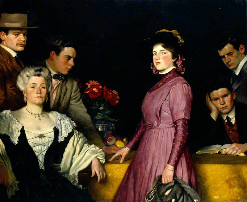 William Strang - Portrait Group