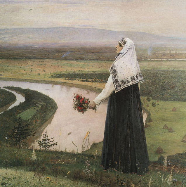 Mikhail Nesterov - On the Hills