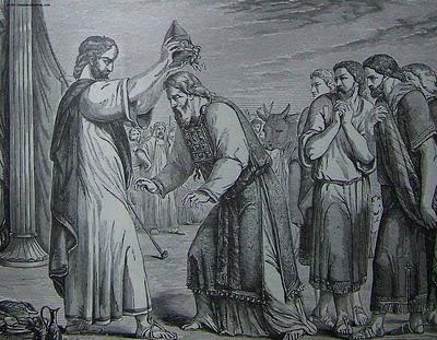 משה מושח את אהרון ובניו