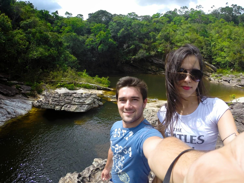 Casal Turista Poço Pari Conceição do Mato Dentro Tabuleiro