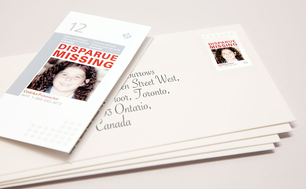 Missing Children's Network Launch Missing Kids Stamps