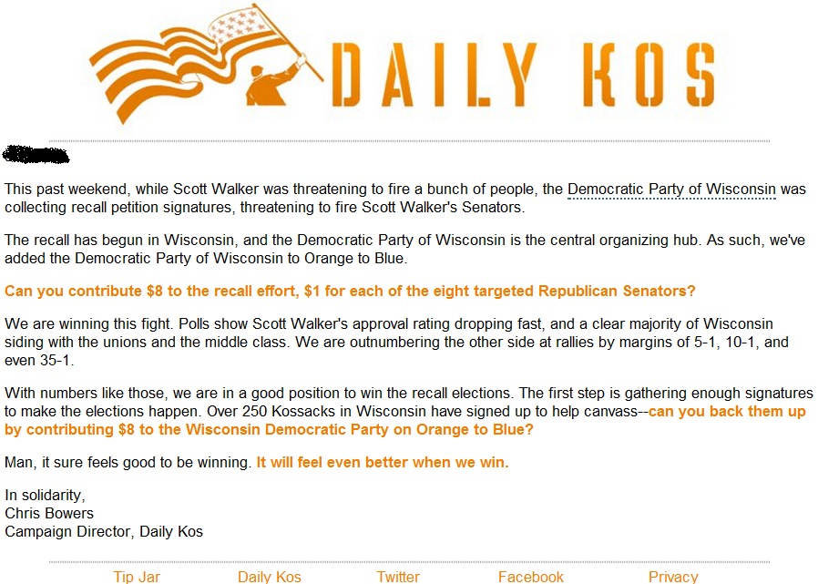Pundit Press: Exclusive: Daily Kos Spearheading Efforts to ... Daily Kos