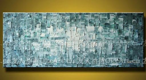 Canvas Wall Art Abstract Painting Modern decor knife Oi