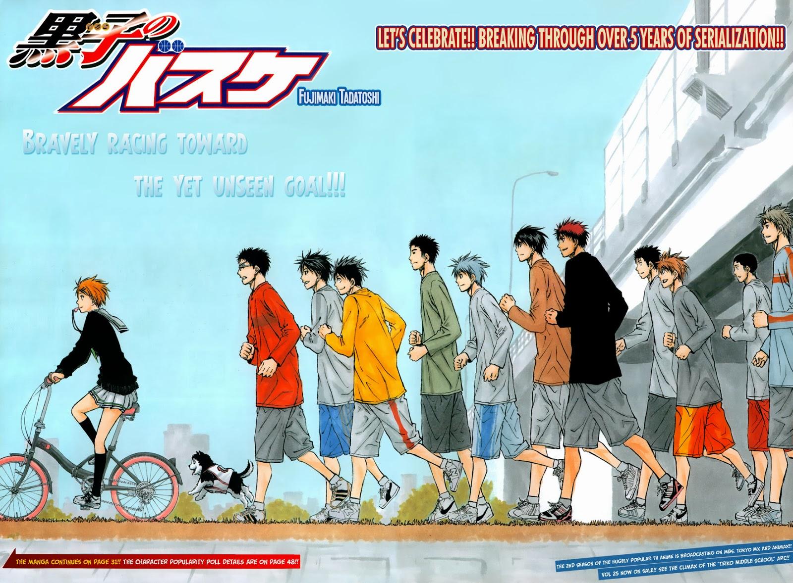 Kuroko no Basket Manga Chapter 242 - Image 02-03