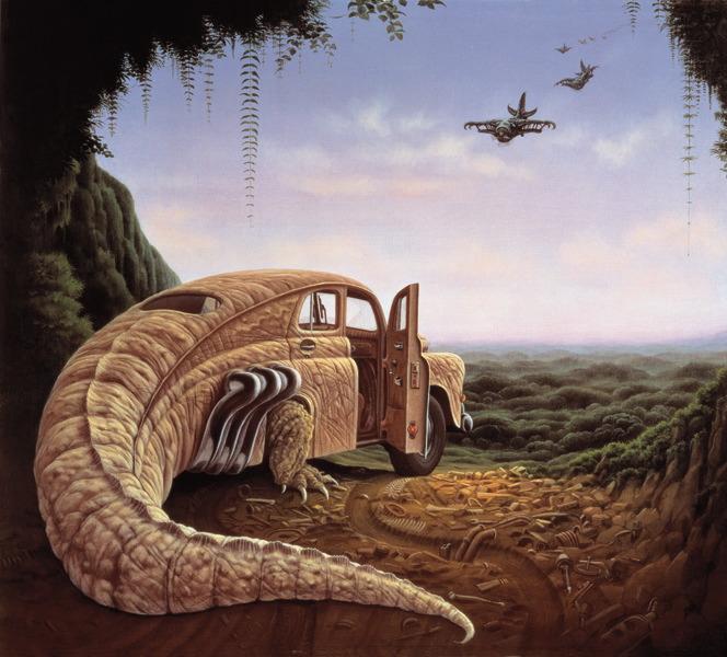 ¿Susrealismo? - Página 3 Ilustraciones-pinturas-surrealistas-surrealismo-Jacek-Yerka-arte1