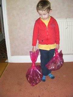 millenium seed bank, sacks of seed