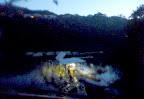 早朝の会場である相模湖「日相園」桟橋 2012-11-26T03:08:13.000Z