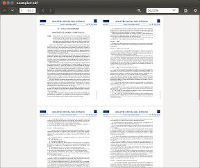 Trabajar con archivos PDF en Nemo