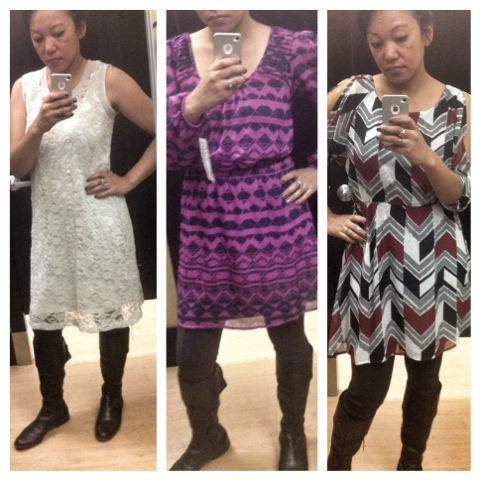 Dresses I tried on