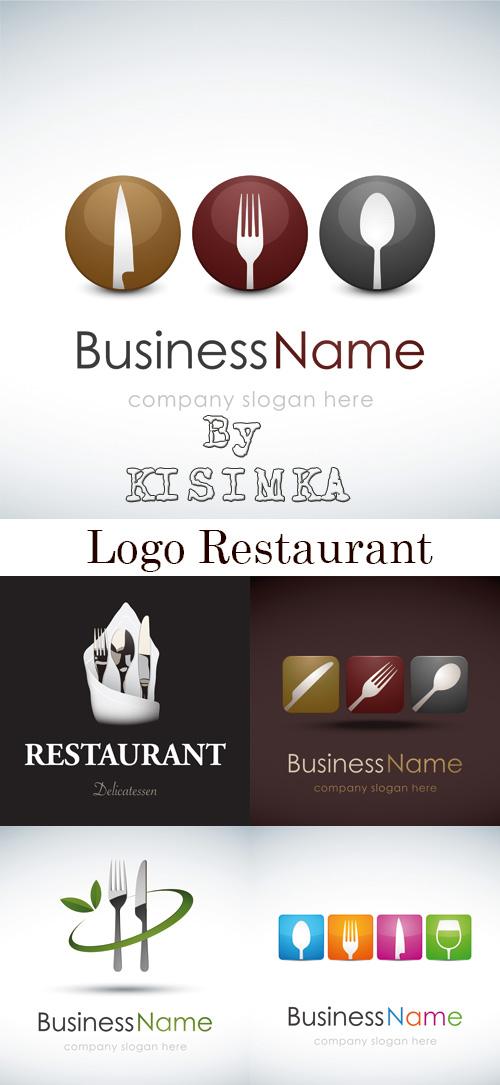 Stock: Logo restaurant
