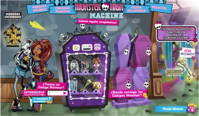 """Esta es la """"Monster Machine"""". ¿Has tenido la suerte de conseguir algún premio?"""