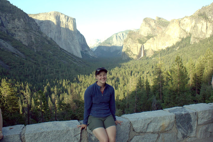 Ashley in Yosemite National Park