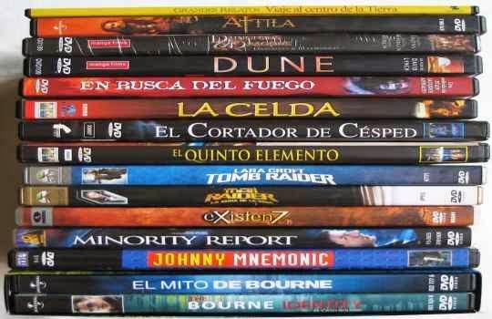 Coleccion DVD de peliculas como regalo