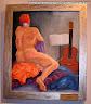 Recital desnudo. Óleo sobre lienzo. Esther Hinojosa