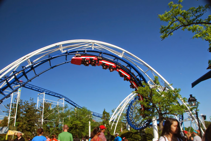 The Corkscrew. From The Complete Guide to Visiting Cedar Point