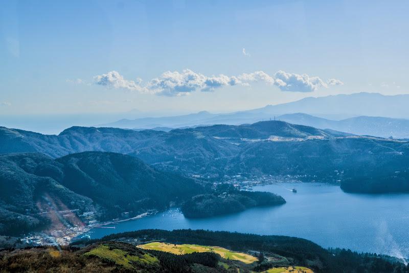 駒ヶ岳ロープウェイ 芦ノ湖 写真