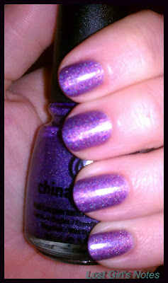 china glaze gamer glam swatches and review