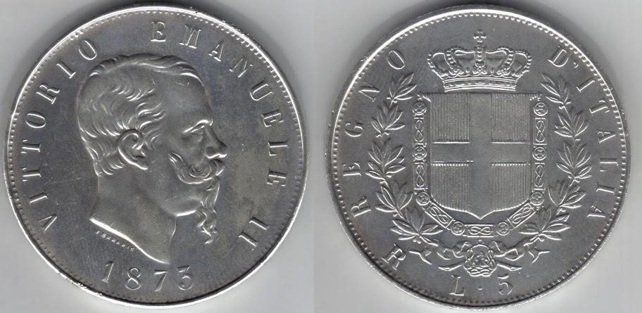 Mi colección de monedas italianas. 5%20liras%201873%20R