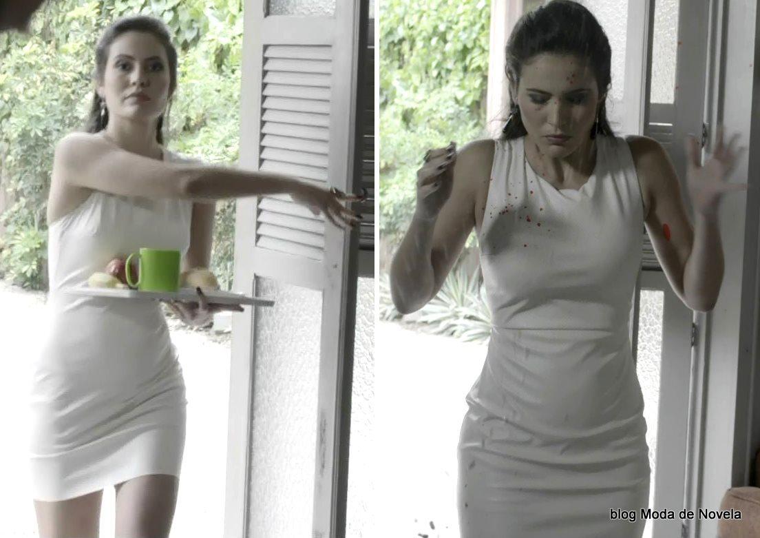 moda da novela Império, look da Carmen dia 28 de janeiro de 2015