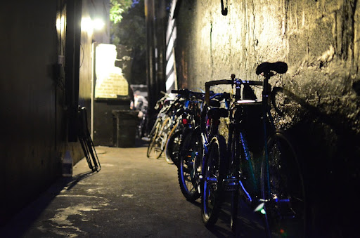 Bikes in BAR | Photo by Robby Campbell