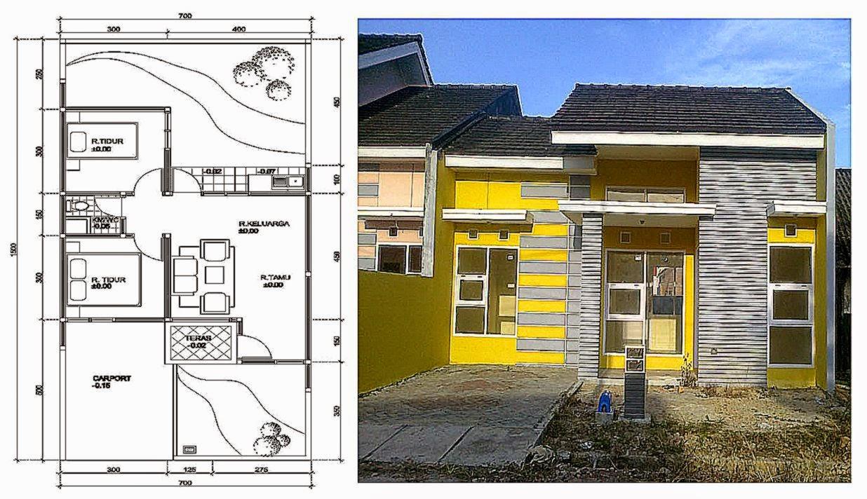 Denah Dan Desain Rumah Minimalis Gallery Taman Minimalis