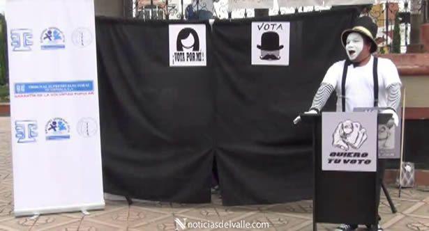 Incentivan al voto sin decir una palabra