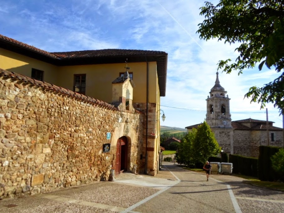 Albergue de peregrinos San Antón Abad, Villafranca Montes de Oca, Burgos, Camino de Santiago