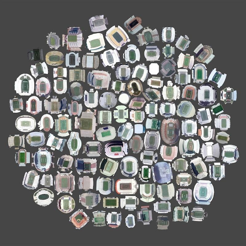 Что удалось разглядеть в Googl Maps. 12 фото