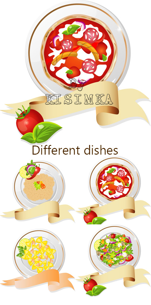 Stock: Different dishes