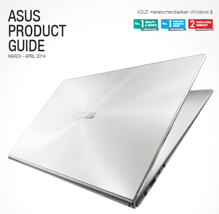 Brosur laptop Asus 2014