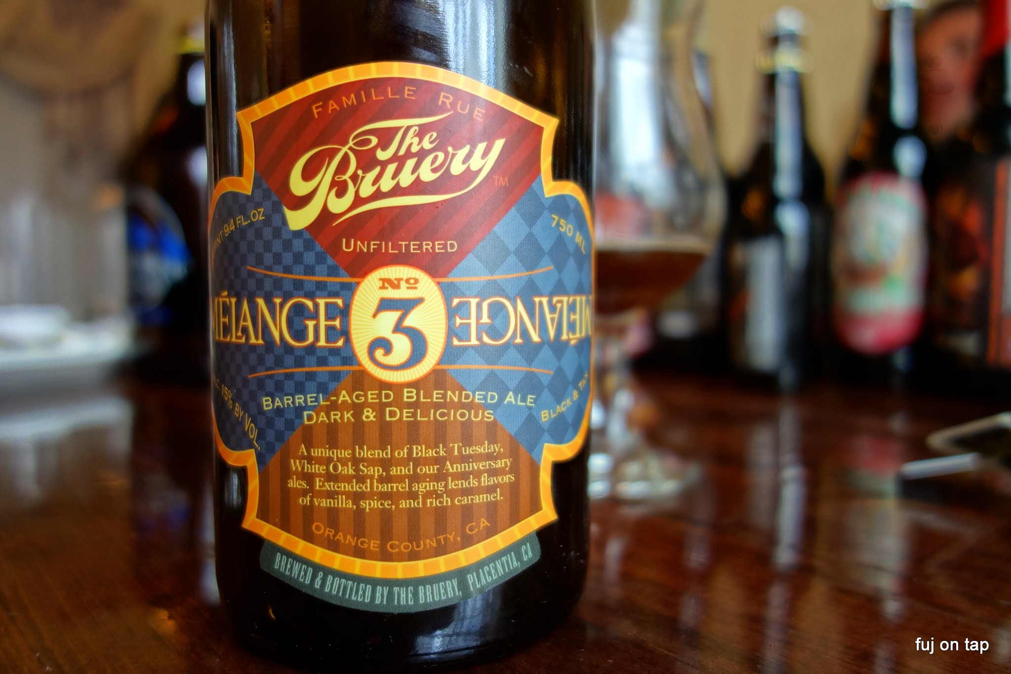 The Bruery Melange No 3
