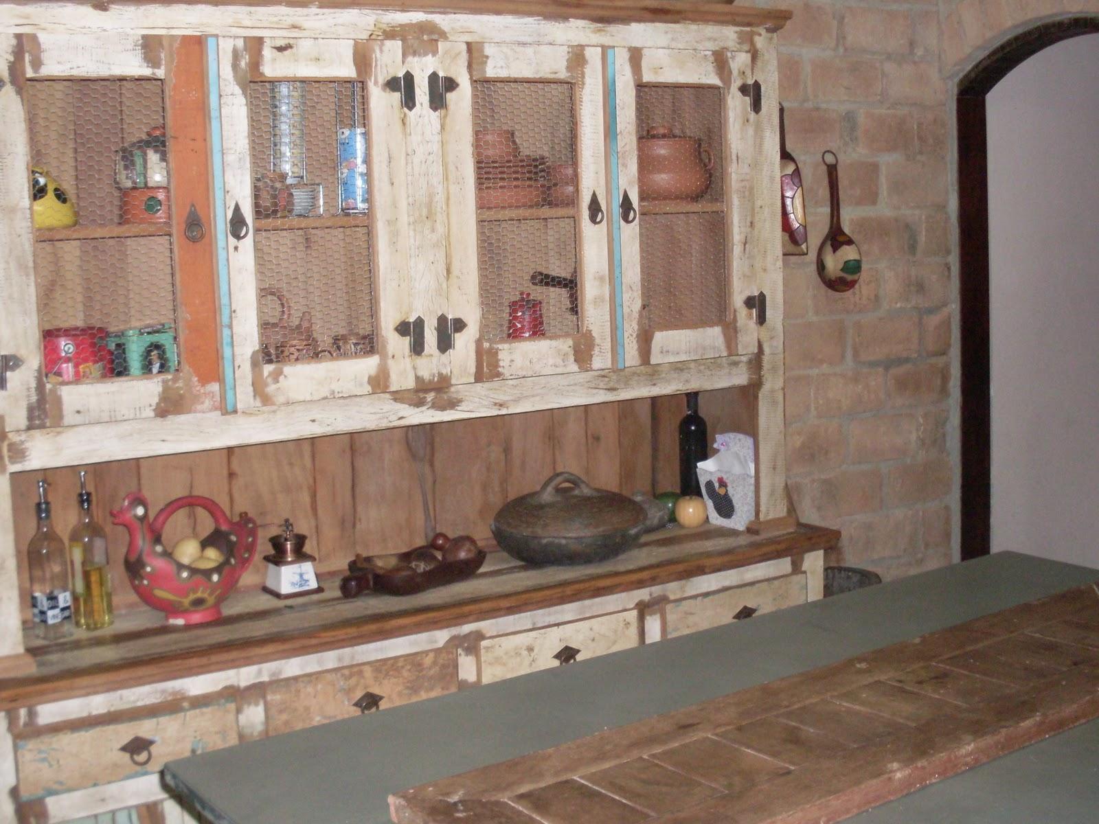Cozinha Rústica de John Jeito de Casa Blog de Decoração #955F36 1600 1200
