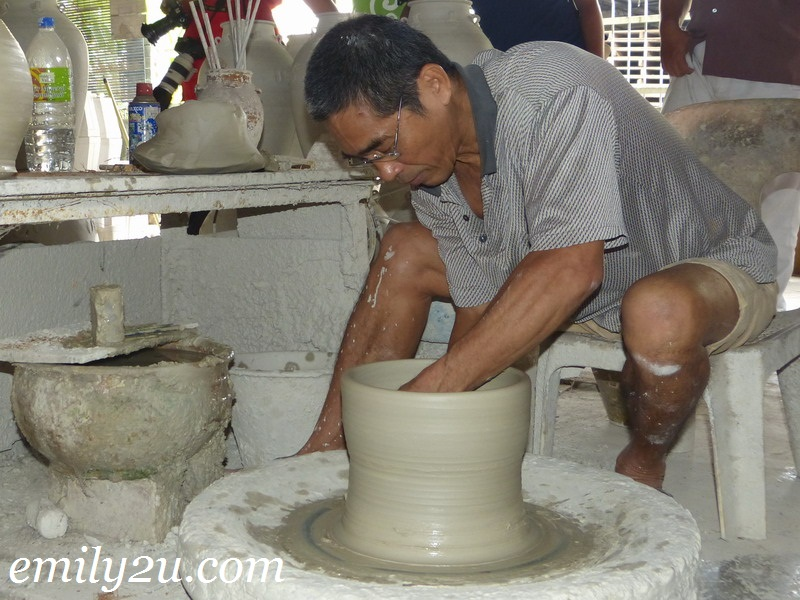 Sibu Earthenware & Pottery-Making
