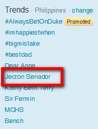 jerzon senador