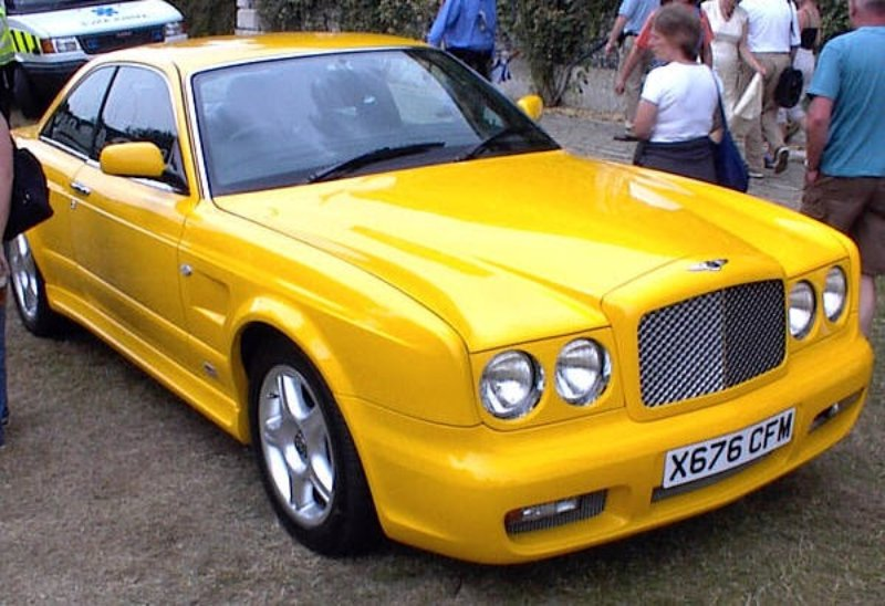 Yellow Bentley Continental T Personal Commission