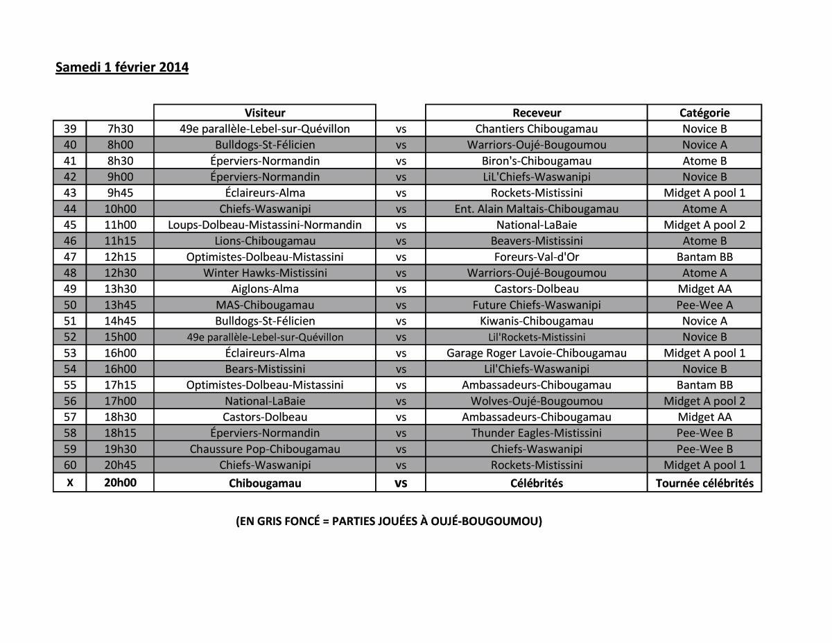 horaire tournoi hockey mineur chibougamau 2014