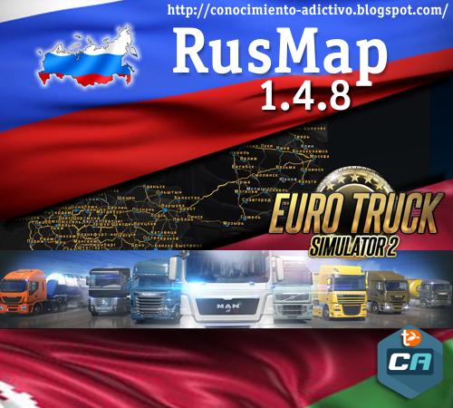 RusMap v1.4.8
