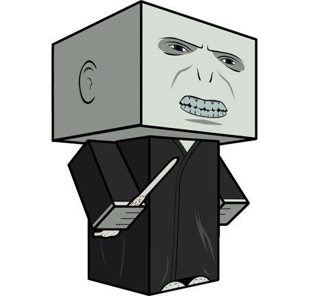 Lord Voldemort Papercraft