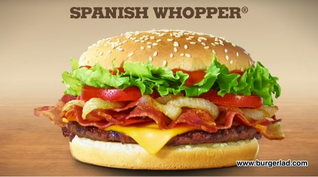 Burger King Spanish Whopper