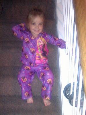 POD: Violet's new PJs