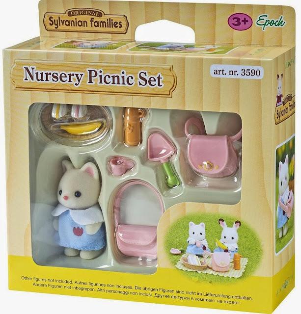 Bộ đồ dã ngoại Nursery Picnic Set 3590 được làm từ chất liệu an toàn