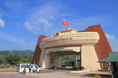 Vietnam - Laos border