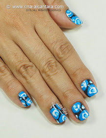 To Be Blue Nails