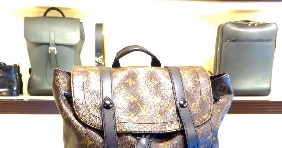 Reflections In Time  Louis Vuitton Backpacks - Gear For The Elite Urban  Traveller adf78aa9eb870