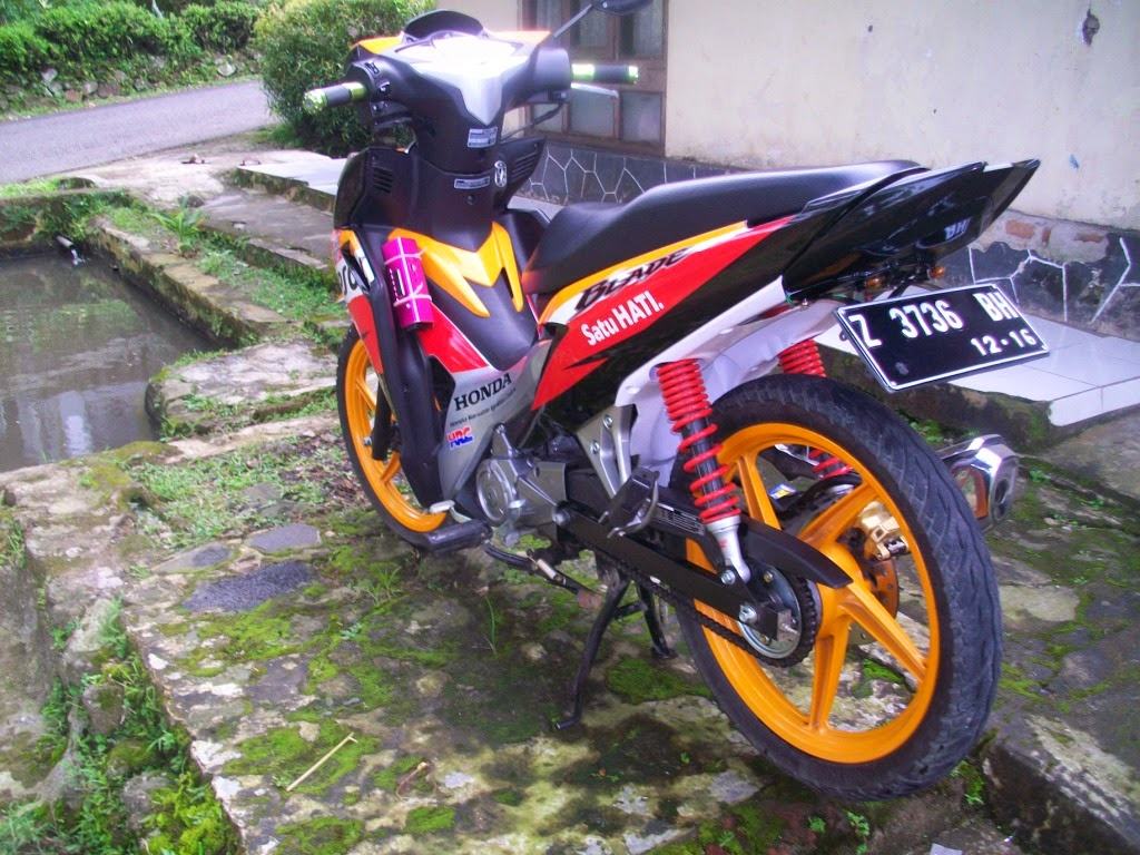 Modifikasi Motor Blade 125