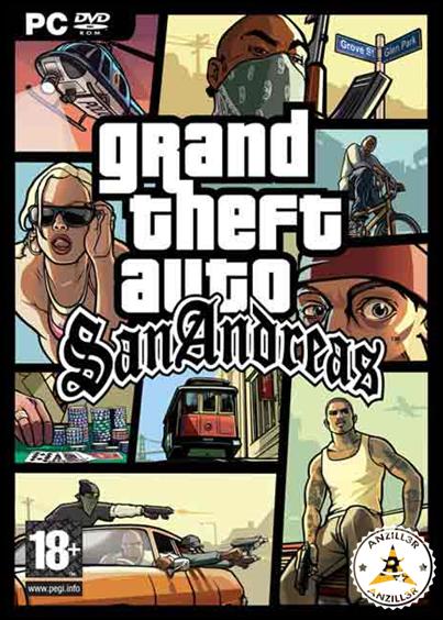GTA San Andreas cover pc